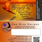 Sea-Wing Designs sunset card