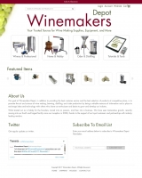 Wine Makers Depot Home Page